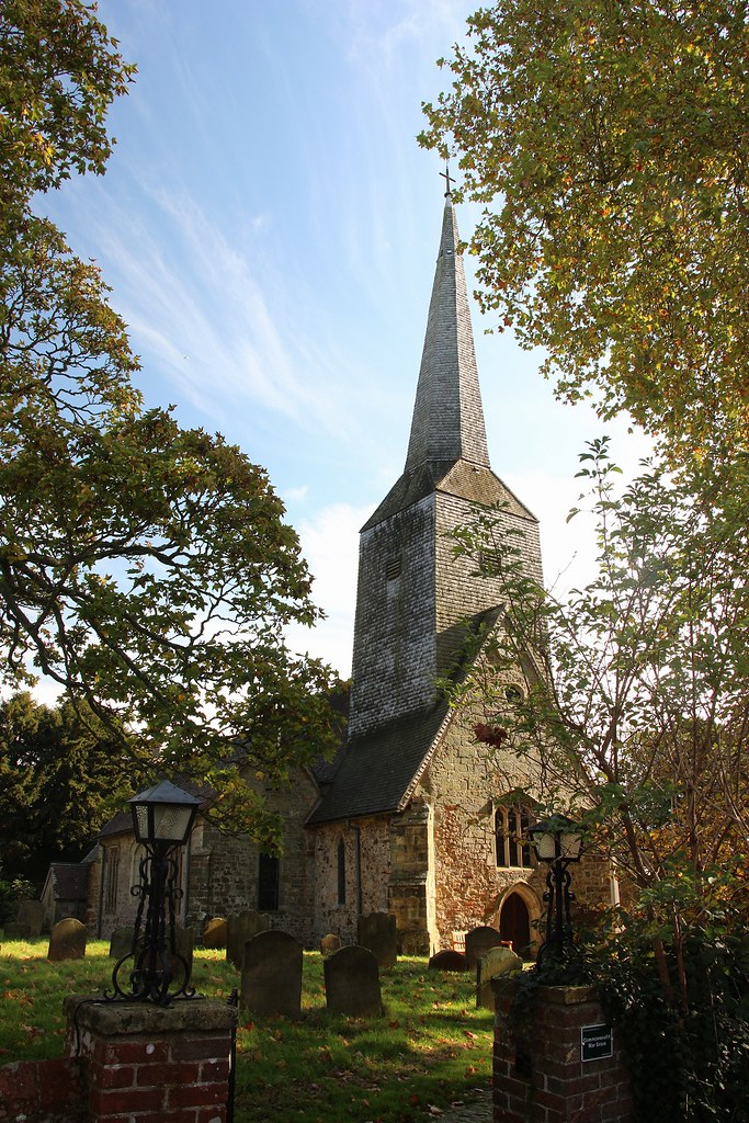 An image of Cowden Church, St Mary Magdalene